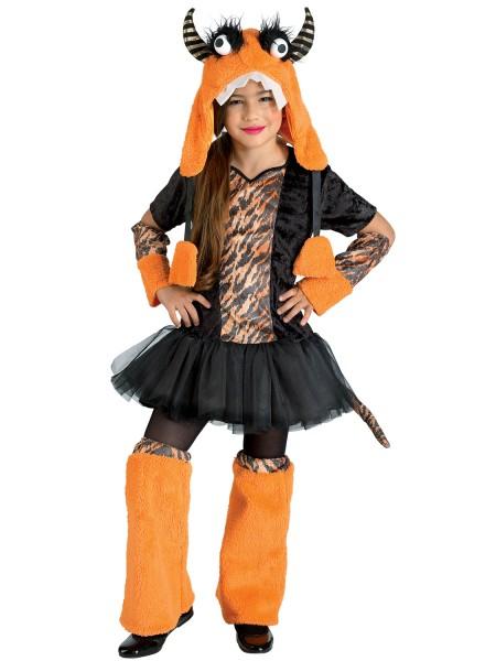 Kinderkostüm Tiger, Cosplay Monster, Tigerkostüm Mädchen