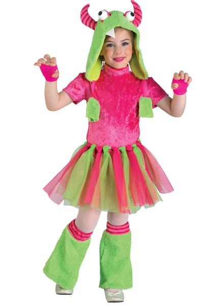 Monster Girl Kostüm, Kinderkostüm Monster für Mädchen