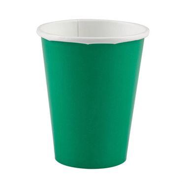 Tischdekoration Pappbecher 266 ml Festive Green