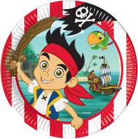 Partyteller 23cm Jack and the Neverland Piraten
