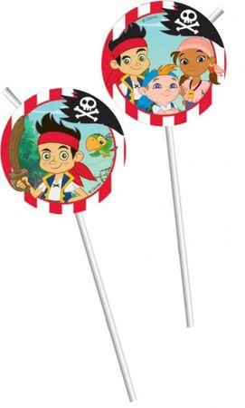 Partytrinkhalme Jack and the Neverland Piraten
