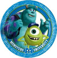 Partyteller 23cm  Monsters University