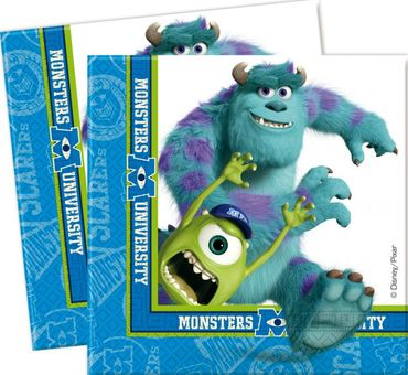 Partyservietten Monsters University