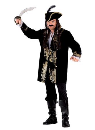 Pirat Kostüm für Erwachsene - Piraten Luxus Kostüm