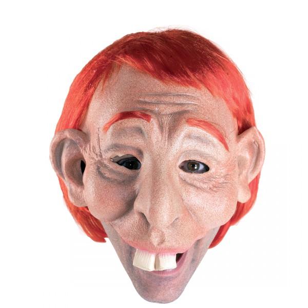 Hasenzahnmaske Latexmaske Halloweenmaske