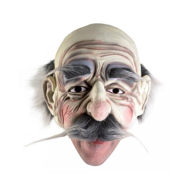 Opamaske Latexmaske Halloweenmaske