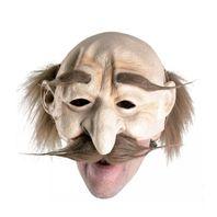 Latexmaske Opamaske Halloweenmaske