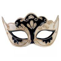 Venezianische Maske Halbmaske Venezianisch