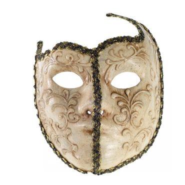 Papp-Maché Maske Venezianische Maske Halbmaske