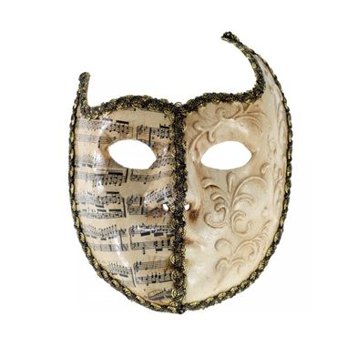 Halbmaske Venezianische Maske