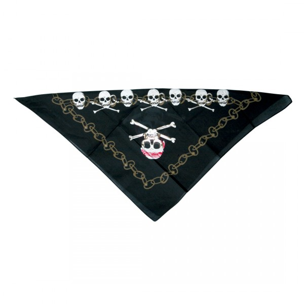 Piratenbandana Totenkopfbandana