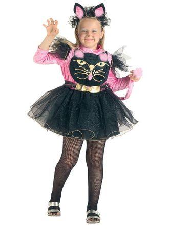 Kinder Kostüm Katze, Mädchen Kostüm Katze, Katzenkostüm