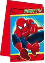 Partyeinladungskarten Ultimate Spiderman