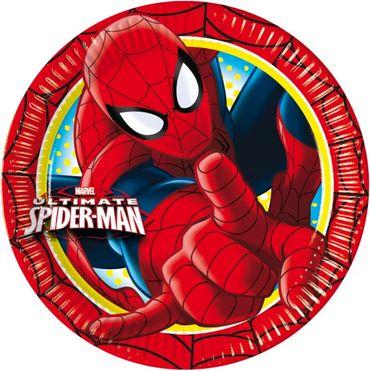 Partyteller 23cm Ultimate Spiderman