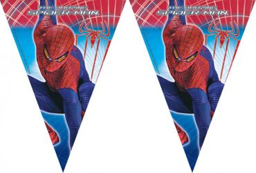 Partyflaggenbanner The Amazing Spiderman