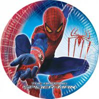 Partyteller 23cm The Amazing Spiderman