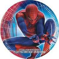 Partyteller 20cm The Amazing Spiderman