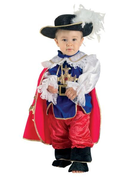 Musketier Baby Kostüm: 5teiliges Musketier Kinderkostüm