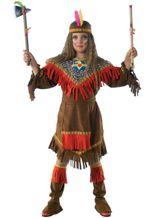 Squawkostüm Indianerin Häuptlingstochter