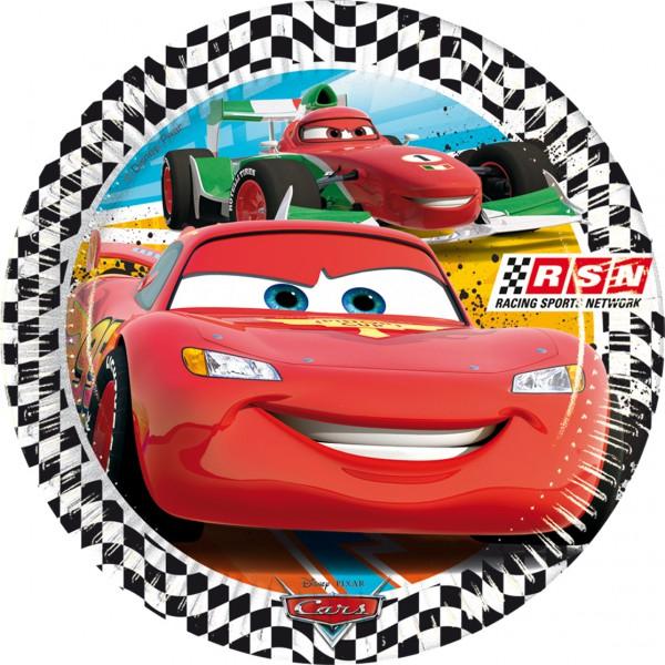 Partyteller 20cm Cars RSN