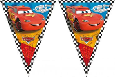 Partyflaggenbanner Cars RSN