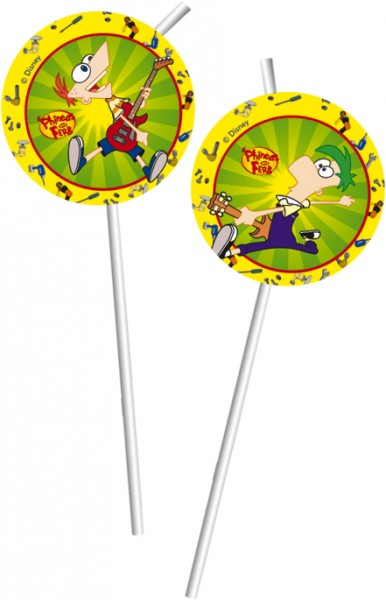 Partytrinkhalme Phineas And Ferb