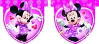 Partyflaggenbanner Minnie Mouse