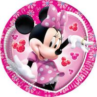 Partyteller 20cm Minnie Mouse