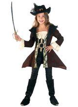 Kinderpiratenkostüm Piratin Luxuspiratin
