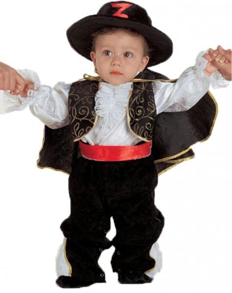 Baby Kostüm Zorro - kreatives Kleinkinder Kostüm Zorro