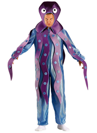 Ganzkörperkostüm Oktopuskostüm Octopus Kostüm