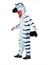 Ganzkörperkostüm Zebrakostüm Zebraganzkörperkostüm