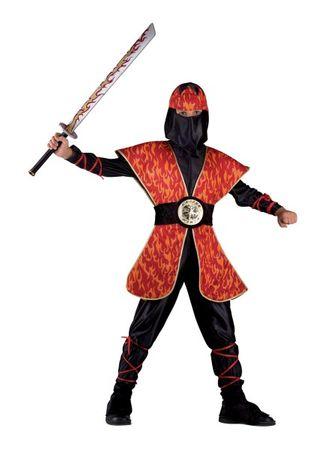 Kinderkostüm Ninja, Faschingskostüm Ninja für Jungen