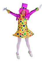 Clownskostüm Bonbonclown Damenkostüm Clown