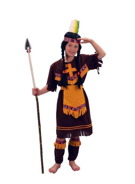 Indianerin Häuptlingstochter Squawkostüm