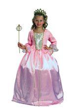 Rosa Prinzessin Kostüm: Kinder Prinzessinnenkostüm edel