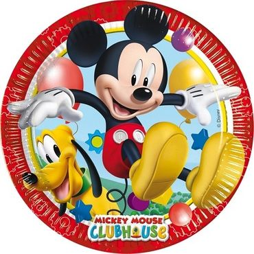 Partyteller 20cm Playful Mickey Mouse