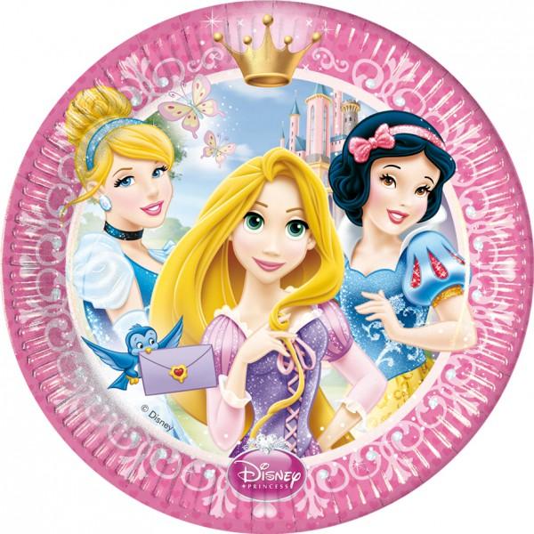 Partyteller 23cm Princess Glamour