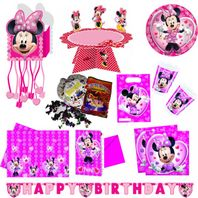 Minnie Maus XXL Party Paket 58 Teile
