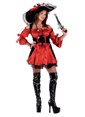 Piratinkostüm Seeräuberinkostüm Sexy Piratin