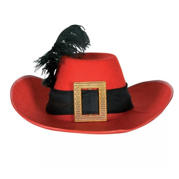 Musketierhut Hut mit Feder Musketeer
