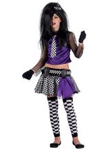Emokostüm Gothickostüm Punkerkostüm