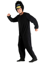 Gruppen Kostüm Ente, schwarz, wie Daffy Duck Kostüm