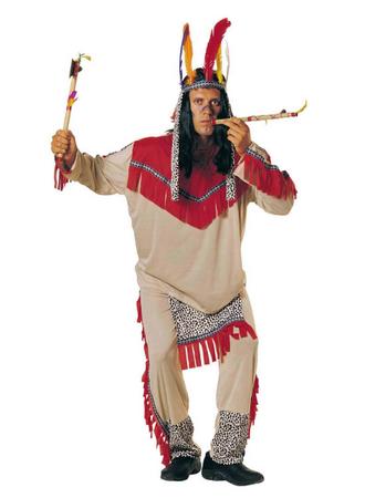 Indianerkostüm Häuptlingskostüm Indian Boy Kostüm