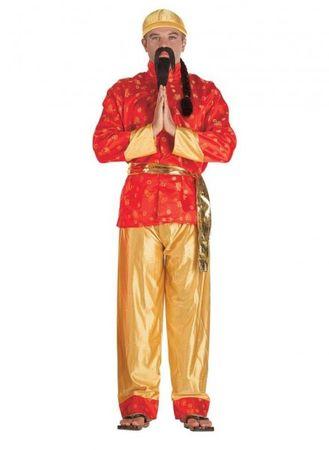 Asiakostüm Chinesenkostüm Chinese Männerkostüm
