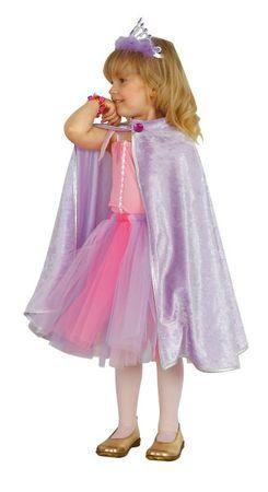 Prinzessin Cape Prinzessinüberwurf Princesscape Lila