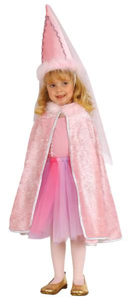 Prinzessin Cape Prinzessinüberwurf Princesscape Rosa
