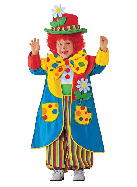 Clown Kostüm Kinder, Zirkus Clown Kinderkostüm günstig