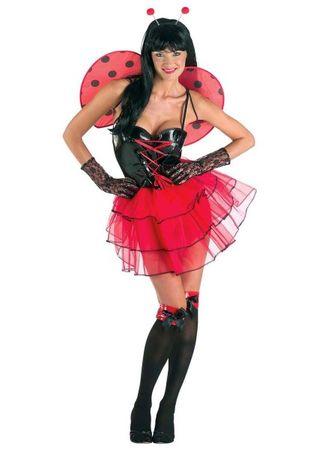 Marienkäferkostüm Sexy Marienkäfer Kostüm