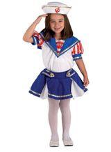 Sailorgirllkostüm Seefahrerinkostüm Matrosinkostüm